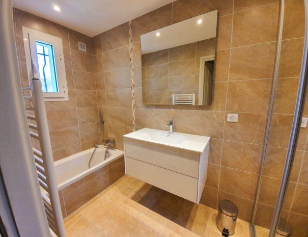 Salle de bain n°2 de la villa